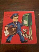 Vintage 1950's Birthday Greeting Card Kids Game
