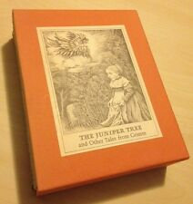 The Juniper Tree And Other Tales Of Grimm Lore Segal Maurice Sendak 2 Book Boxed