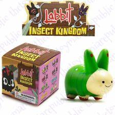 Kidrobot Kozik Labbit Insect Kingdom Vinyl Mini Series Figure Green Caterpillar