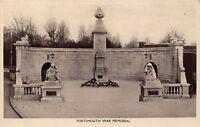 POSTCARD   HAMPSHIRE   PORTSMOUTH   War  Memorial      RP