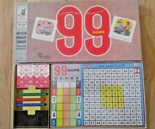Rare and Early 1959 GAME OF 99 Milton Bradley COMPLETE Great Vintage Condition!