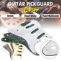 SSS Scratchplate 3-gly 11-Loch Pickguard Für Fender USA/MEX Strat