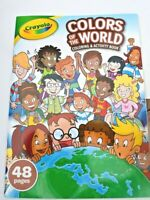Crayola Colors of the World Activity and Coloring Book 48 Pages