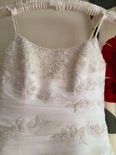 ellis bridal wedding dress Size 12/16