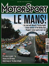 Motor Sport Jun 2003 - French Le Mans Winners, Shadow DN1, BMW 2002, Baghetti
