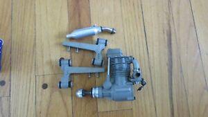ASP FS-80 single cylinder ringed 4-stroke engine