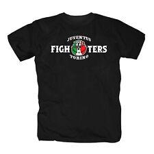 Juve Fighters Ultras Fussball Club Italia Turin Italien Forza Fans T-Shirt S-3XL