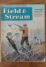 Vintage Field & Stream Magazines November 1945 Duck Hunting Rezoned? Lynn Hunt