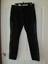 WOMEN'S DKNY JEANS BLACK LEGGING NWT SIZE 8 MSRP $79.50