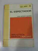 El Standee JOSE Ortega And Gasset Book 188 Pages Rtv 4 - 1970 Salvat