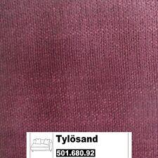 IKEA Tylösand Bezug für 2er Sofa mit einer Armlehne  Everöd dunkelrot 501.680.92