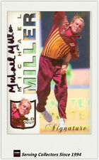 1998/99 Select Cricket Retail Shield Standout Signature Card SS4: Michael Miller