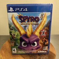 Spyro Reignited Trilogy Remastered - PS4 - Brand New Factory Sealed!