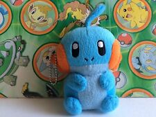 Pokemon Plush Mudkip Coin Purse Keychain Pouch case pack Stuffed doll figure go