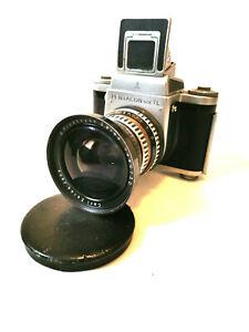 Camera Pentacon SIX TL + Carl Zeiss Jena Flektogon Zebra 2.8/65 very rare lens