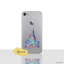 """Cute Disney Castle Soft  Case/Cover for Apple iPhone 8 (4.7"""") / Screen Protector"""