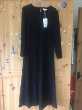 Warehouse Croc Textured Midi Dress, Size 14