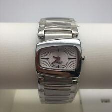 OROLOGIO BREIL TRIBE donna, solo tempo, fondo argento, cinturino acciaio TW0134
