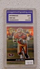 JERRY RICE #12 2000 BOWMAN'S BEST [MINT 9] TOPPS  SNAGGLETOOTHGRADING #35364383
