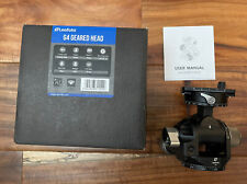 USED Leofoto G4 Geared Ball Head with Plate and Case Boxed