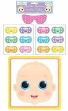PIN THE DUMMY ON THE BABY MULTI PLAYER BABY SHOWER PARTY GAME UNISEX BOY/GIRL