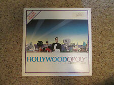 HOLLYWOODOPOLY: A CITYOPOLY GAME -1989, 8-Adult, Boys & Girls Monopoly Style