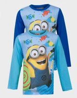 Despicable Me Minions Long sleeved Boys T-Shirt Top  4 5 6 7 8 9 10 Years