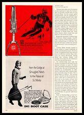 1965 Old Pal Lititz Pennsylvania Trappe Ski Boot Case Salomon Bindings Print Ad