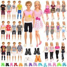 More details for ken & barbie doll bundle dresses clothes       including 20 high quality outfits
