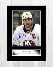 More details for john tavares toronto maple leafs nhl signed a4 poster choice of frame