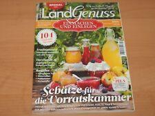 """Land-Genuss Spezial """"EINMACHEN UND EINLEGEN 104 original Rezepte"""" Ausgabe 1/2018"""