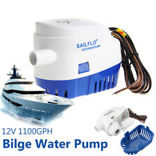 Automatic 12V 1100GPH Submersible Water Pump Boat Auto Bilge With Float Switch