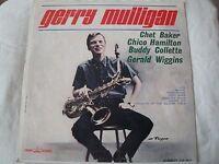 GERRY MULLIGAN VINYL LP CHET BAKER, CHICO HAMILTON, BUDDY COLLETTE, WIGGINS 1964