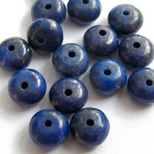 15Pcs Lapis Lazuli Blue Gemstone Beads Finding