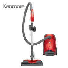 Kenmore 81414-D 400 Series Lightweight Bagged Canister Vacuum W/ HEPA Filter Red