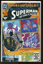 LOT OF 5 COPIES ACTION COMICS #689 NEAR MINT 9.4 1st BLACK SUIT 1993 DC COMICS