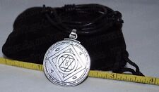 Talisman of Luck Seal of King Solomon Pendant Charm Necklace