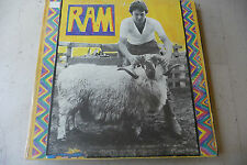 "PAUL McCARTNEY(BEATLES)""RAM-disco 33 giri APPLE Italy 1971"" GATEFOLD"