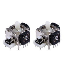 2x New Replacement 3D Joystick Analog Stick for Xbox 360 Wireless Controller