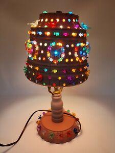 Vintage Lawnware Patio RV  Plastic Table Lamp