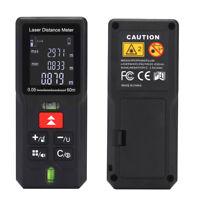 Laser Distance Meter 60M 80M 100M Digital Rangefinder Tape Measure Diastimeter