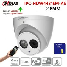 Dahua 4MP Built-in MIC IPC-HDW4431EM-AS 2.8mm IR50m SD Eyeball Network IP Camera
