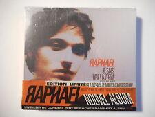 RAPHAEL : JE SAIS QUE LA TERRE EST PLATE ( ÉDITION LIMITÉE ) [ CD + DVD NEUF ]