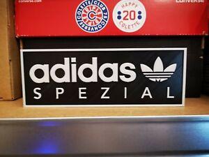 Adidas Spezial Plastic Display sign