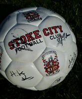 Signed Stoke City football