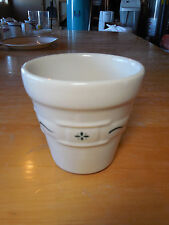 Longaberger Woven Traditions Heritage Green 4 1/2 in Flower Pot