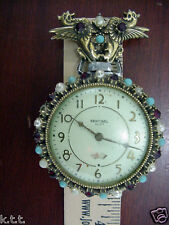 Sentinel USA Made Wind Up Vintage Pocket Watch The E Ingraham Co. Bristol Conn
