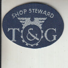 T&G / TRANSPORT & GENERAL WORKERS CATERING SECTOR TRADE UNION BADGE  -
