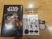 Star Wars Legion Sepratist Specialists. Viper recon droid