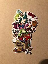 Santa Cruz Simpsons Toybox Sticker,Skateboard